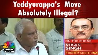 Yeddyurappa%27s+Loan+Waiver+Move+Absolutely+Illegal%3A+Vikas+Singh+%7C+CNBC+TV18