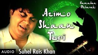 Azimo Shaan Teri | Qawwali I Ramadan Special | Red Ribbon Music