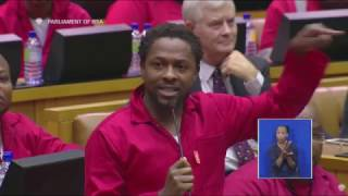 The EFF is ejected from Parliament. Here's what led up to the drama.