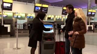 United - London Heathrow T2 Check in