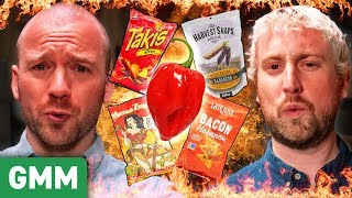 Habanero Snack Taste Test ft. Sean Evans