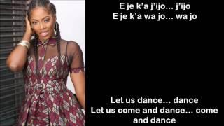Tiwa Savage Ft. Olamide -  Standing Ovation Lyrics / English Subtitles