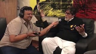 Best Ever Amitabh Bachchan Interview | Rap,Travel, Speaking Bangla | Sujoy Ghosh | Badla | HrishiKay