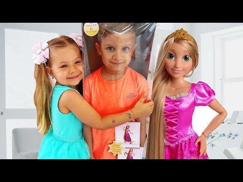 Xxx Mp4 Diana And New Rapunzel Doll 3gp Sex