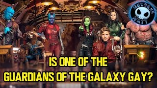 Is one of the GUARDIANS OF THE GALAXY gay?