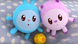 Малышарики - Мячик- серия 88 - обучающие мультфильмы для малышей 0-4 - про машинки