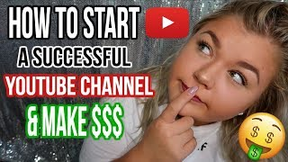 HOW TO START A SUCCESSFUL YOUTUBE CHANNEL | WHAT THEY DONT TELL YOU!