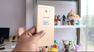 Samsung Galaxy C9 Pro India Unboxing, Features, Camera