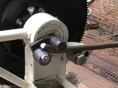 maquina casera riza dobla torsiona rola y hace piñas todo en frio