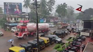 Heavy rain in Bhatkal (10/7/2018)