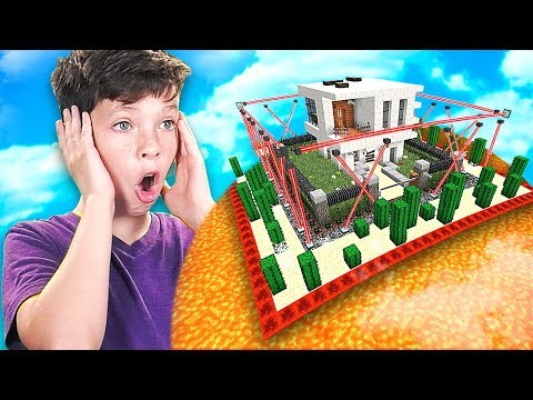 MINECRAFT CAN YOU BEAT my LITTLE BROTHER S IMPOSSIBLE HOUSE DO NOT TRY