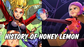 History of Honey Lemon - Big Hero 6