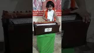 Jai Hind!!! National Anthem by Pari!!! Daughter Ambika Sinha from Sadhna Kala Kender, Muzaffarpur