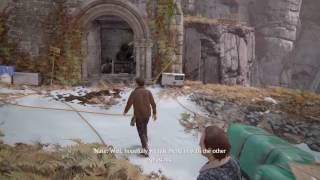 Uncharted 4 GAMEPLAY PART 3 fails and funny MOMENTS