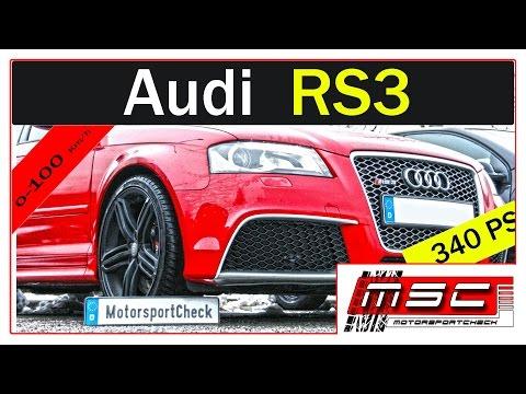 Audi RS3 quattro Acceleration Sound Test