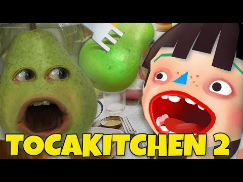 Pear FORCED to Play TOCA KITCHEN