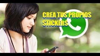 crea tus propios stickers para whatsapp