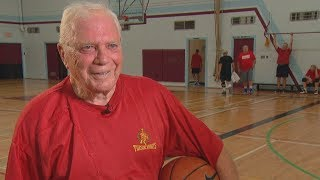 The 'Tuesday Knights': B.C. seniors play basketball together for over 50 years
