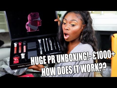 UNBOXING £1000+ WORTH OF BEAUTY PR & SPILLING THE TEA HOW IT WORKS!