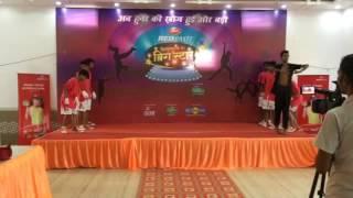 Hindustan ka big star performance by Vishal hax