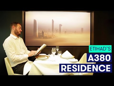 The Points Guy Reviews Etihad's A380 Residence