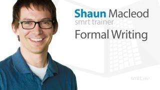 Formal Writing