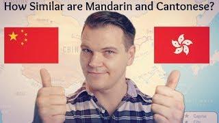 How Similar Are Mandarin and Cantonese?