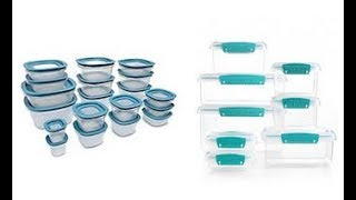 Reviews: Best Food Storage Container Sets 2018