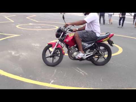 Tutorial Treino Prova Moto Detran Autodramo Jacarepagua RJ