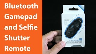 Mini 4 in 1 Bluetooth Gamepad, Selfie Shutter Remote, Music Controller and Mouse (Eng & Thai CC)