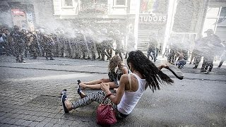 Istanbul Gay pride quashed by riot police, rubber bullets and water cannon