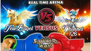 SUMMONERS WAR : JewBagel -VS- Channel 126 (Real-Time Arena)