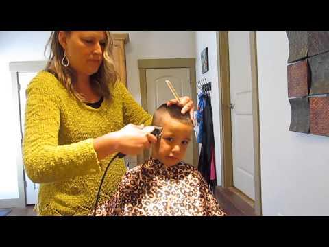 How to cut a Buzz Hawk Haircut