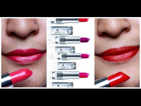 Xxx Mp4 NEW Lakme Enrich Satin Lipsticks Review Demo 3gp Sex