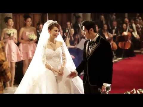 Xxx Mp4 周杰倫與昆凌教堂婚禮畫面 Jay Chou Hannah Quinlivan S Wedding Selby Abbey Yorkside 3gp Sex