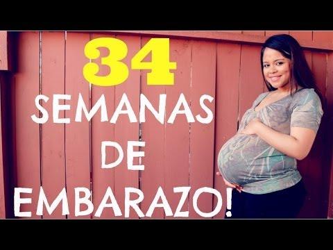 SEMANA DEL DOLOR 34 SEMANAS DE EMBARAZO 8 MESES DE EMBARAZO TERCER TRIMESTRE DE EMBARAZO