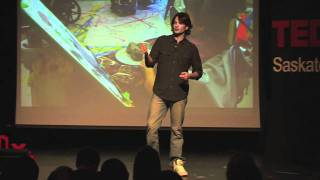 TEDxSaskatoon Jeff_Nachtigall Raw Vision -- The Power of Art in Health Care