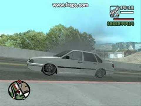 GTA San Andreas com carros brasileiros