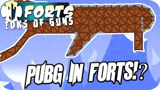 Forts Multiplayer 3v3 Gameplay PUBG In Forts, Chaos Ensues
