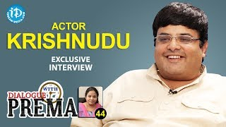 Actor Krishnudu Exclusive Interview || Dialogue With Prema || Celebration Of Life #44