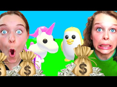FAMILY WITH MOST MONEY WINS IN ADOPT ME Roblox Gaming w The Norris Nuts