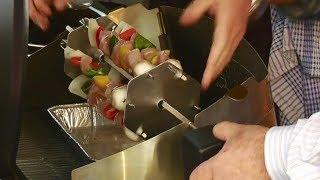 New Weber Rotisserie Kebab Skewer System & Weber Rotisserie Basket