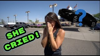 BOUGHT MY MOM A BRAND NEW CAR!! (PRICELESS REACTION)