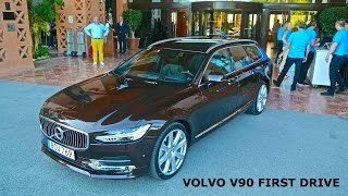 2017 Volvo V90 D5, first drive