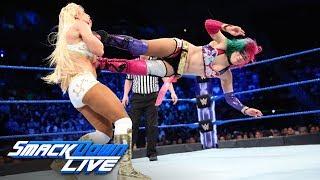 Asuka vs. Mandy Rose & Sonya Deville - 1-on-2 Handicap Match: SmackDown LIVE, June 5, 2018