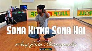 Sona Kitna Sona Hai (Hero No. 1) | Freestyle | Anuj Jain