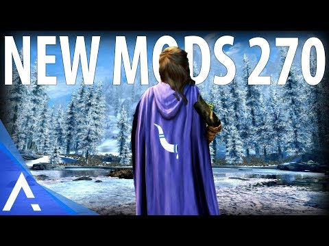 5 Brand New Console Mods 270 - Skyrim Special Edition (PS4/XB1/PC)