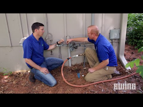 How to Winterize a Sprinkler System Blow Out Method