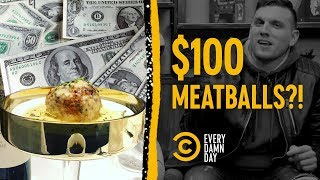 We Made Chris Distefano Choose Between $100 Meatballs and Cash