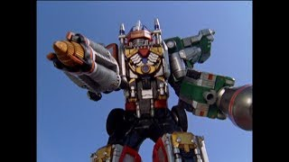 Power Rangers Operation Overdrive - Follow the Ranger - Megazord Fight (Episode 9)